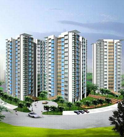 2 BHK Flats & Apartments for Sale in Thane West, Thane - 770 Sq. Feet