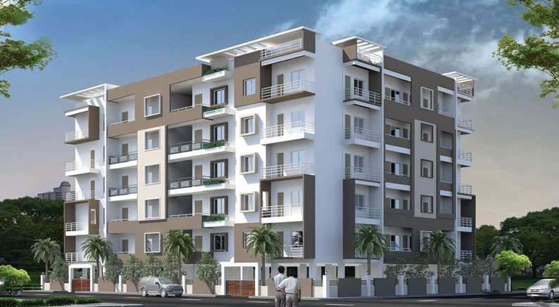 3 BHK Flats & Apartments for Sale in Whitefield, Bangalore East - 1605 Sq.ft.