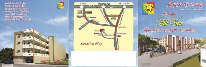 3 BHK Flats & Apartments for Sale in Sector 49, Faridabad - 4 Ares