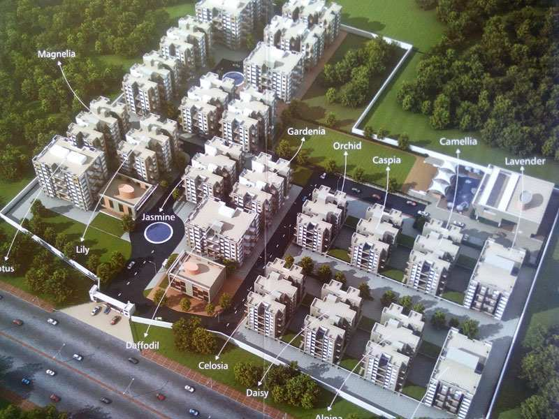 2 BHK Builder Floor for Sale in Wardha Road, Nagpur - 928 Sq.ft.