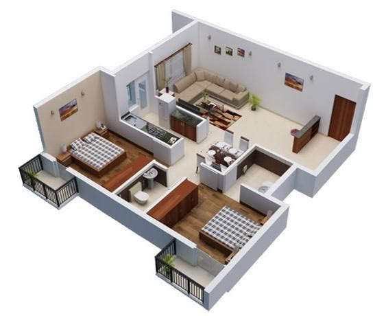 2 BHK Builder Floor for Sale in Jagatpura, Jaipur - 1000 Sq.ft.
