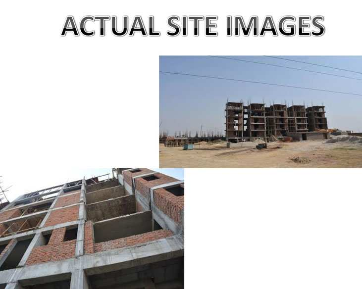 1 BHK Flats & Apartments for Sale in NH-24 Highway, Ghaziabad - 7 Acre