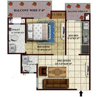 2 BHK 850 Sq.ft. Residential Apartment for Sale in Roorkee Roorkee