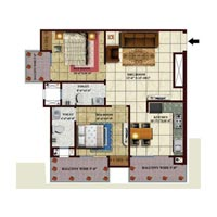 2 BHK 1290 Sq.ft. Residential Apartment for Sale in Roorkee Roorkee