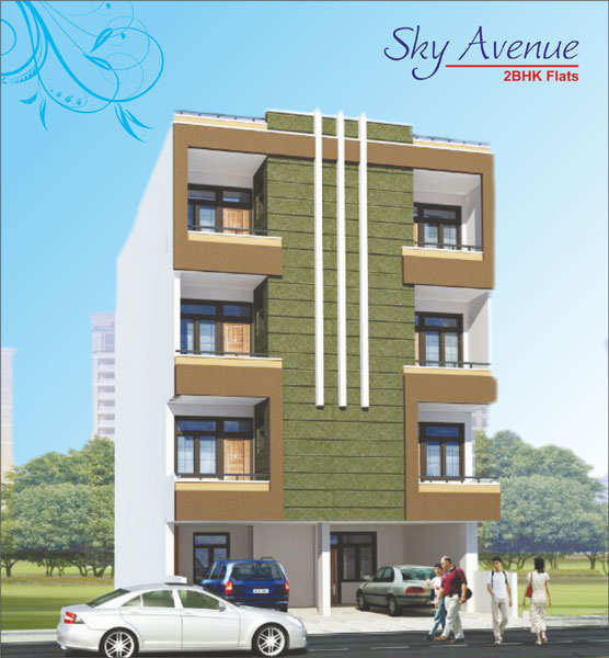 2 Bhk Flats & Apartments for Sale in Sirsi Road, Jaipur - 185 Sq. Yards