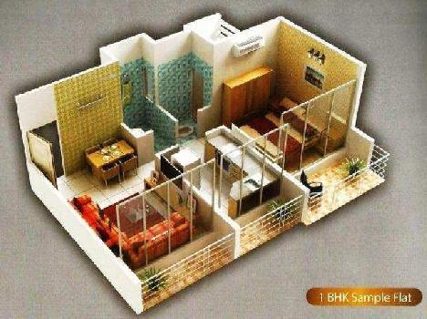 1 BHK 650 Sq.ft. Residential Apartment for Rent in Sector 5 Kharghar, Navi Mumbai
